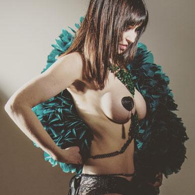 Burlesque modeshow